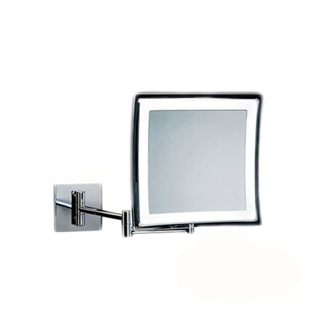Makeup Mirror With Lights Mounted To Wall Smile 850 Wired Wall Mounted Magnifying Mirror 5x