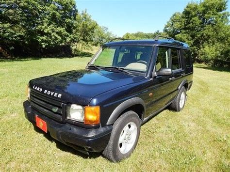 land rover series 3 4 door purchase used 1999 land rover discovery series ii sport