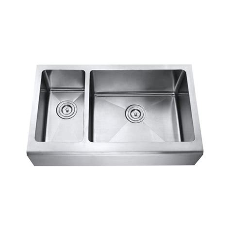 33 Inch Stainless Steel Smooth Flat Front Farmhouse Apron 33 Inch Kitchen Sink