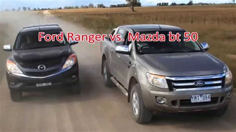 ford ranger vs mazda bt50 pro