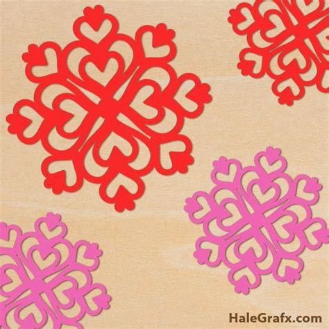 printable heart snowflakes 324 best valentine s day printables images on pinterest