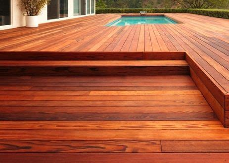 this beautiful deck is redwood the california redwood company took this photograph in hollywood