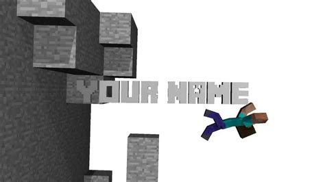 minecraft intro blender template minecraft quot smash quot intro template blender 2 6