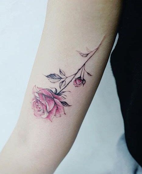 blooming rose tattoo designs best 25 tattoos ideas on