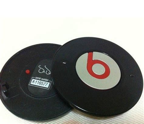 Sparepart Beat dre beats studio headphone black battery cover