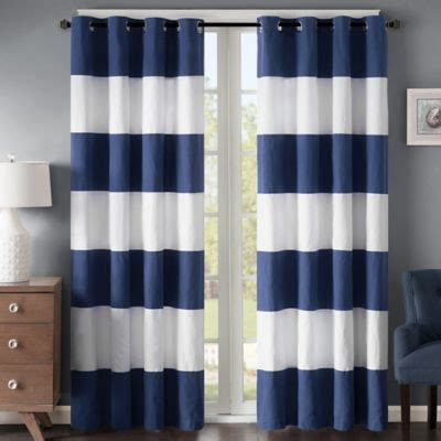 light blue and white striped curtains light blue and white horizontal striped curtains curtain