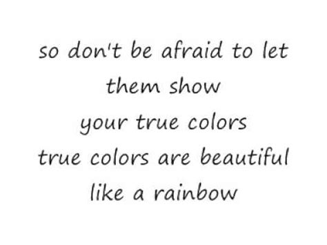 true colors cyndi lauper lyrics cyndi lauper true colours lyrics