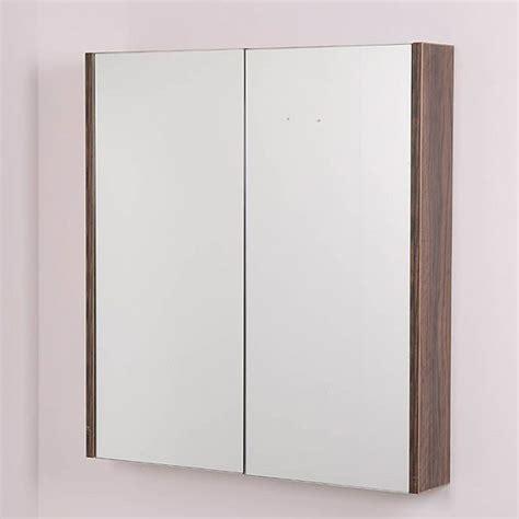 walnut bathroom mirror aspen 60cm 2 door walnut mirror cabinet home stuff i