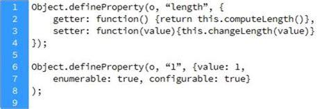 defineproperty setter ecmascript 3 vs ecmascript 5 jie huang s blog