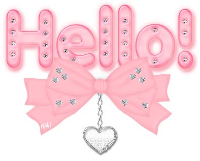Pink Hello hello pink with diamonds hello myniceprofile