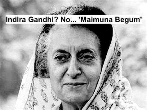indira gandhi biography name indira gandhi real name maimuna begum feroze gandhi