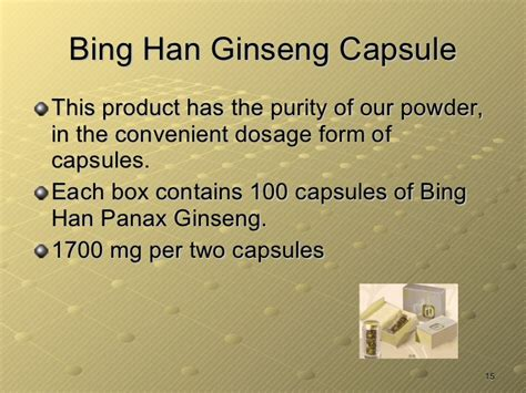 Han Ginseng Powder food therapy part 2 cancer and ginseng