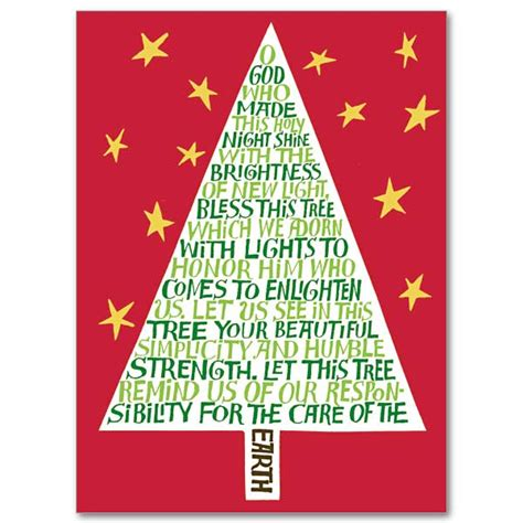 image of winters blessing christmas tree the blessing of the tree heritage spirit of card