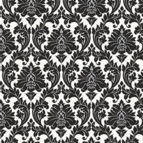 black and white damask wallpaper home depot graham brown 56 sq ft majestic black wallpaper 30 433