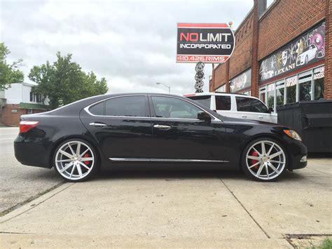 lexus ls 460 rims for sale lexus ls460 with blaque wheels no limit inc