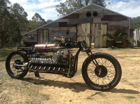 backyard bikers the quot 1916 quot steunk by mark walker featuring a home built