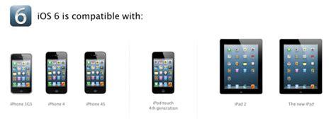 seit wann gibt es das iphone 4s update ios 6 welches ios ger 228 t bekommt welche features