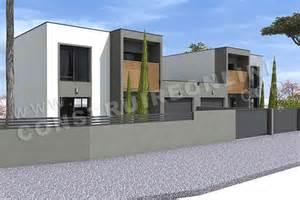 Construction D Un Garage conception de maisons jumel 233 es contemporaines 224 marseille