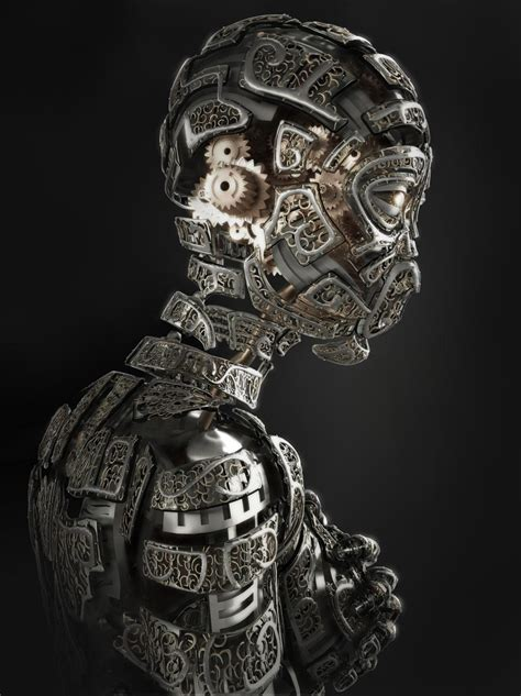 half android 40 stunning artworks of futuristic robots world s national museums and