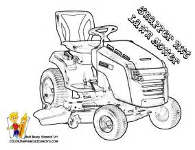 Coloring Pages To Print Free Tractors Farm Kids sketch template
