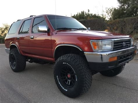 how petrol cars work 1993 toyota 4runner interior lighting 1993 toyota 4runner 4x4 v6 auto sr5 super clean rust free 4 88 gears 33 quot tires for sale photos