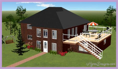 House Designs Software by Home Designing Software 1homedesigns Com