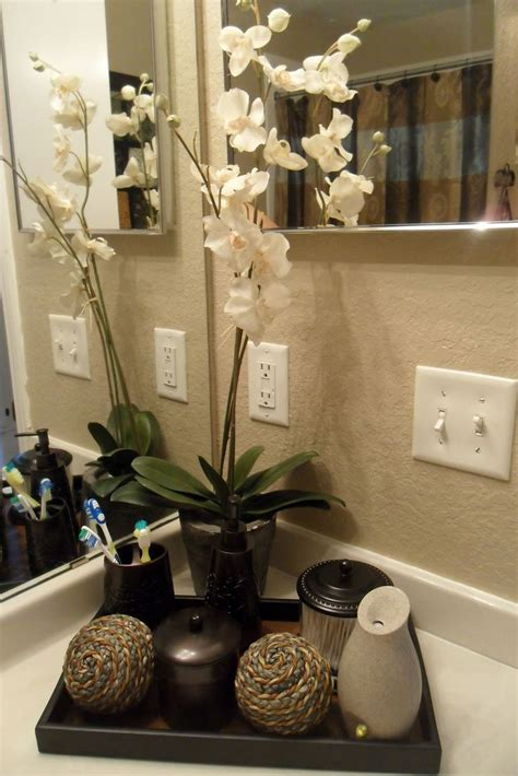 25 best bathroom counter decor ideas on