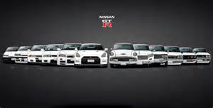 Nissan Gtr History Nissan Skyline And Gtr History Poster