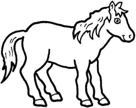 dibujos para colorear de caballos dibujo de caballos dibujo para colorear de caballos