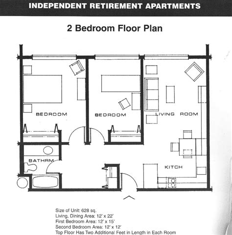 small  bedroom apartment plans apartment floor plans