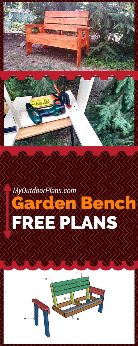 simple garden bench plans free 113 best free garden bench plans images on pinterest