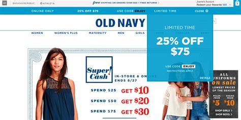 old navy coupons shoes image gallery old navy com