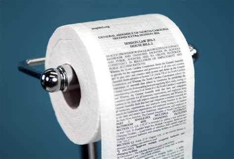 How They Make Toilet Paper - mckinney printed n c s bathroom bill on toilet paper you