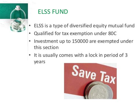 tax exemption under different sections types of mutual funds