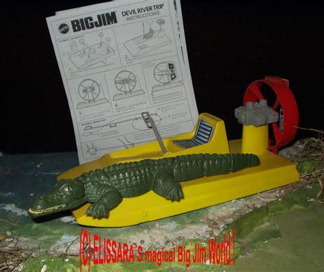 big jim boat big jim sw boat crocodile alligator mattel ebay