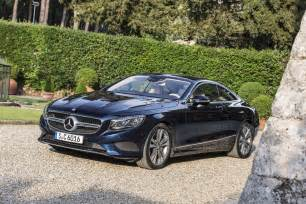 Mercedes S500 4matic 2015 Mercedes S500 4matic Coupe Front Three Quarters