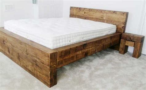 Handmade Bed - the sleeper bed low foot end the cool wood company