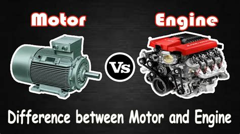 what is engine size and why does it matter motor vs engine difference between engine and motor youtube