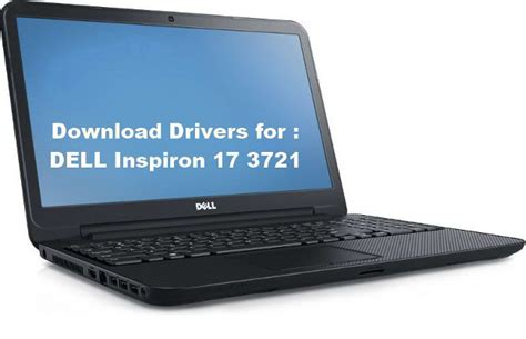 Notebook Windows 7 3721 by Dell Inspiron 17 3721 Audio Wireless Vga