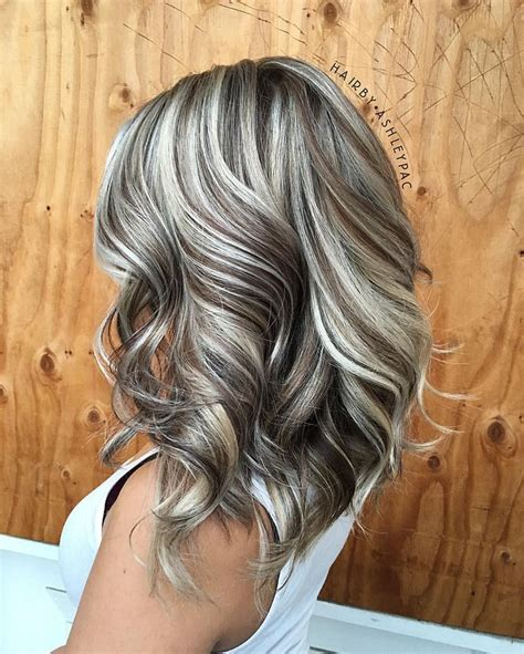 putting silver on brown hair 40 best hair highlights images on pinterest hairstyle