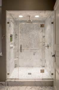 Marble Bathroom Showers Marble Shower Ledge Transitional Bathroom Archer Buchanan Architecture