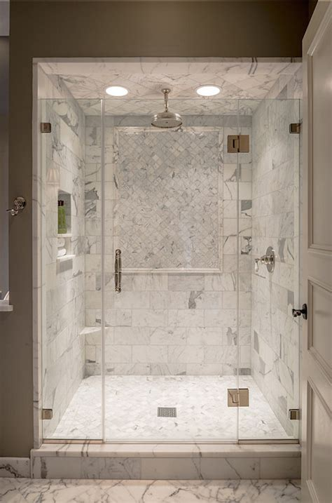 beautiful calacatta marble for interior design attractive marble shower ledge transitional bathroom archer