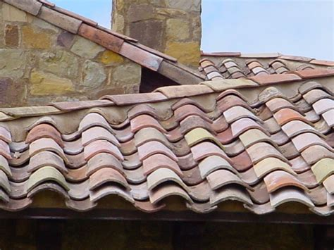 French antique clay roof tiles, circa 1820 For Sale