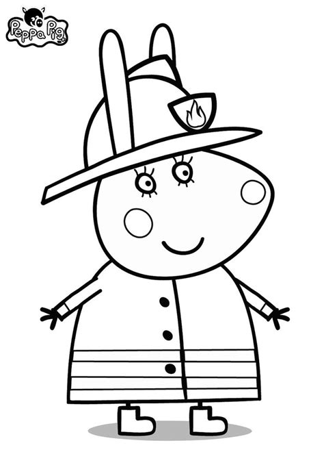 Free Coloring Pages Of Peppa Pig Birthday Colouring Pages Peppa Pig