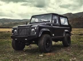 icon land rover defender 90 6 2 chev v8 black