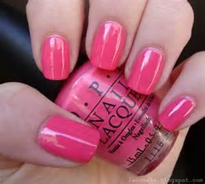 pink nail colors lendoxia opi elephantastic pink