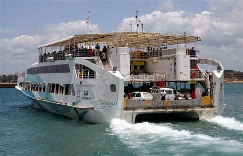 ferry boat zumbi dos palmares ferry boate opera no sistema bate e volta para atender