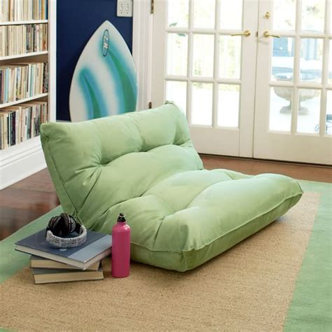 teenage chaise lounge single flip floor lounger pbteen