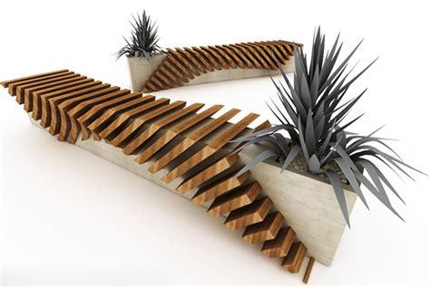 designer bench urban bench with a planter by jui sammartino modern