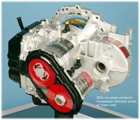 The Chrysler 62TE automatic transmission (transaxle)